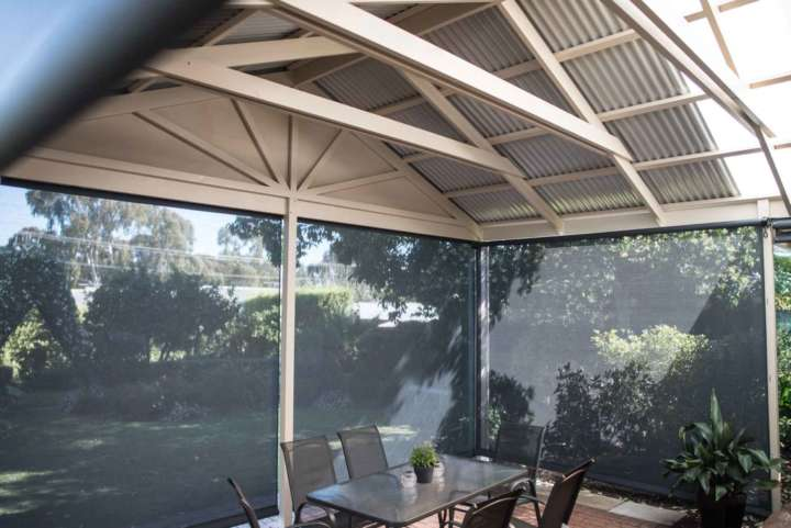 Timber will give your pergola a more rustic look.