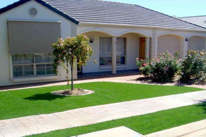 Artificial Grass FAQ - Can I install artificial lawn on the verge outside my house? By Australian Outdoor Living
