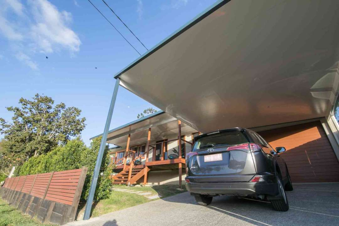 How does a carport make my home more appealing - Carports can be made out of steel or timber, Australian Outdoor Living.