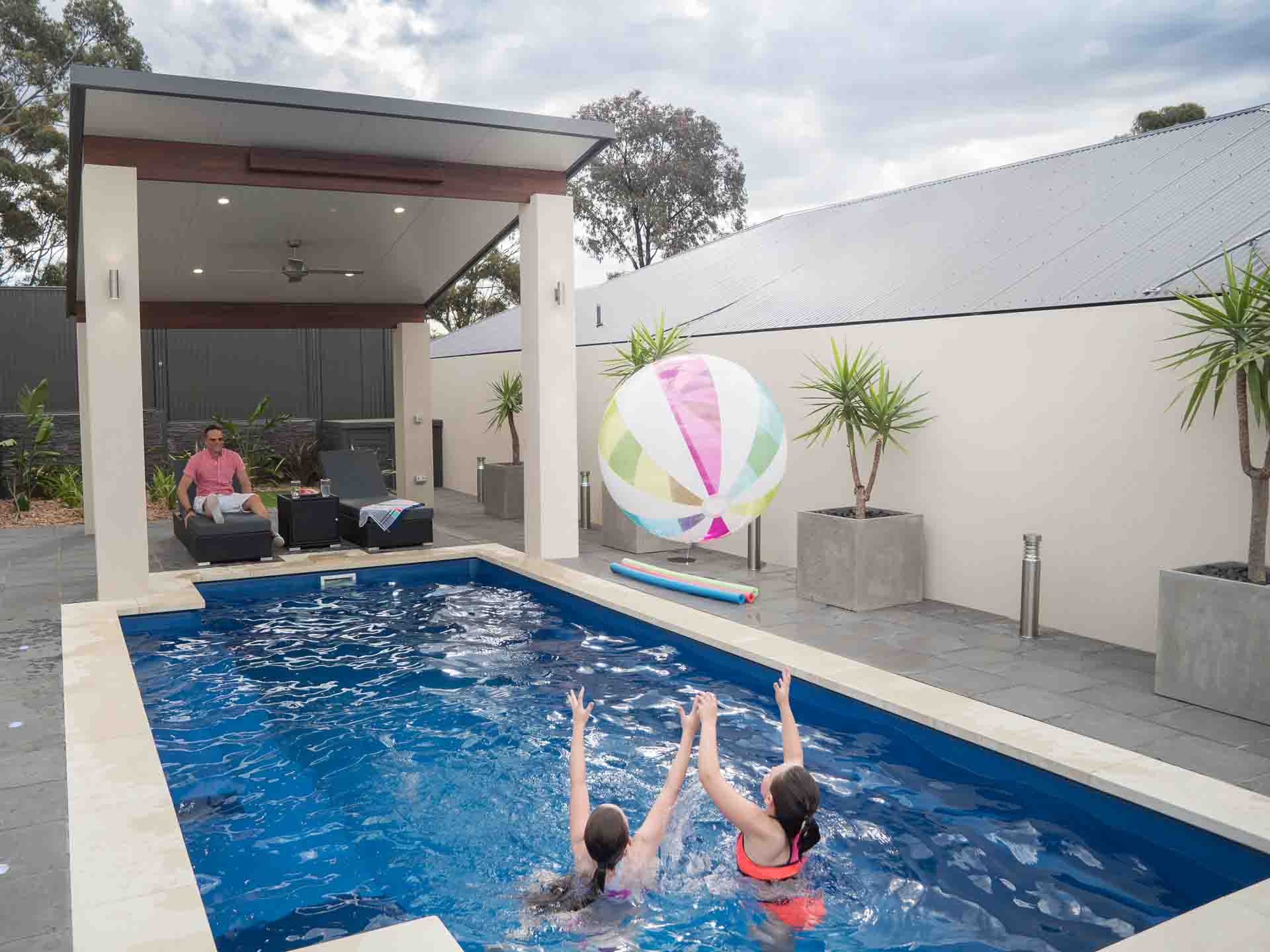 How to Add Value to Your Home with a Concrete Pool - A concrete pool adds home appeal to family buyers, Australian Outdoor Living.