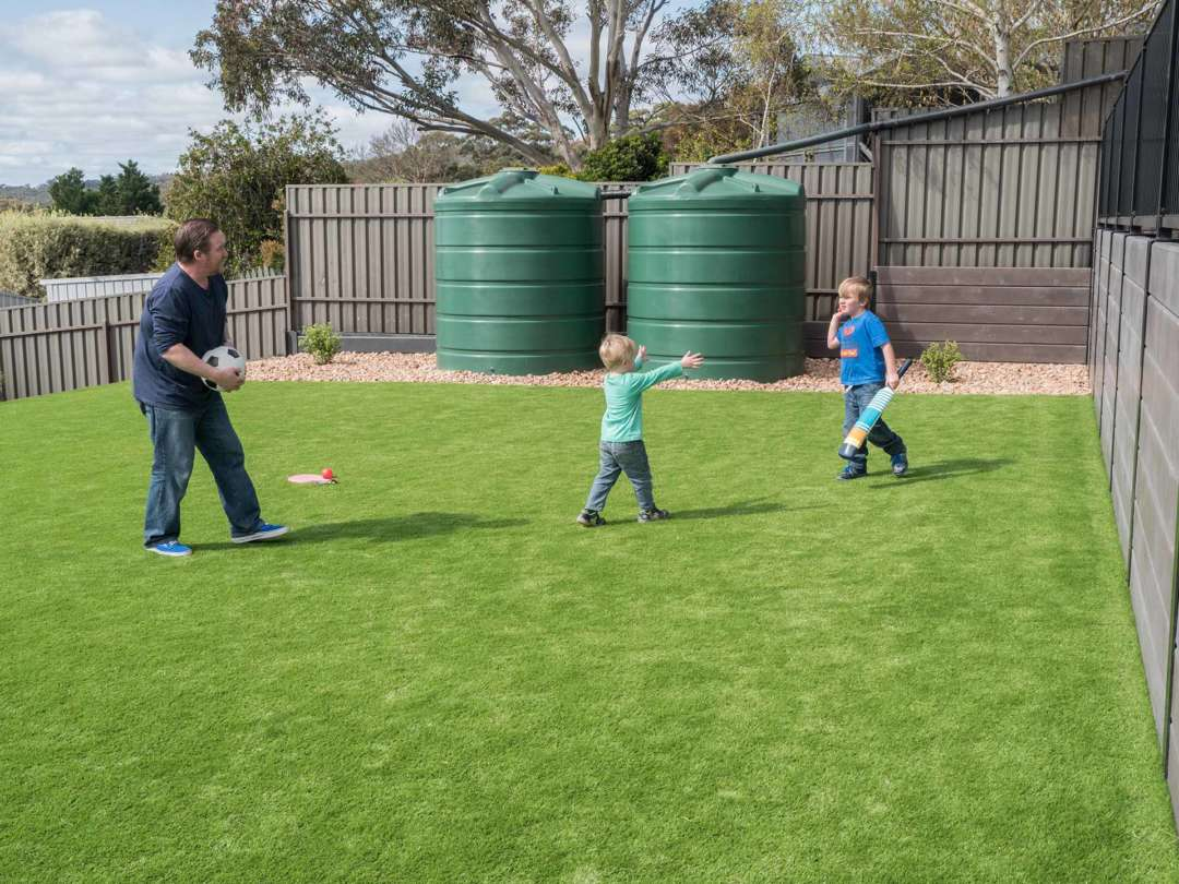 A garden for the kids without breaking the bank - Have Plenty of Open Space in Your Garden for Kids, Australian Outdoor Living.