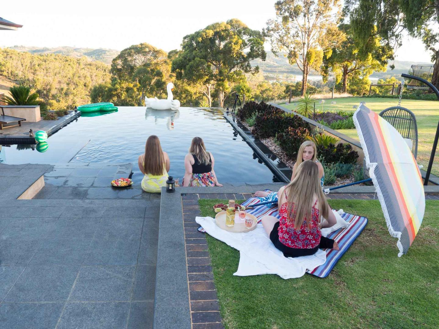 3 Awesome Themes for an Unforgettable New Year's Eve Party - NYE Pool Party, Australian Outdoor Living.