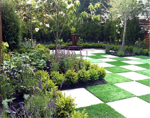 Artificial Grass Pattern