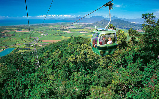 The 4 Best Outdoor Experiences in Queensland - Skyrail Rainforest Cableway, Australian Outdoor Living.