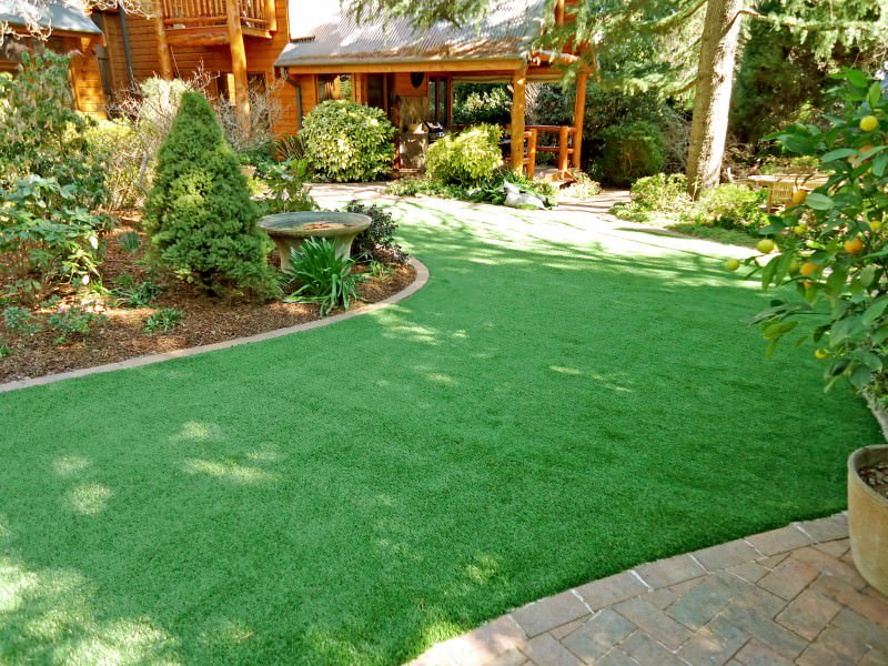 Should I get artificial grass - Artificial grass is low maintenance, Australian Outdoor Living.