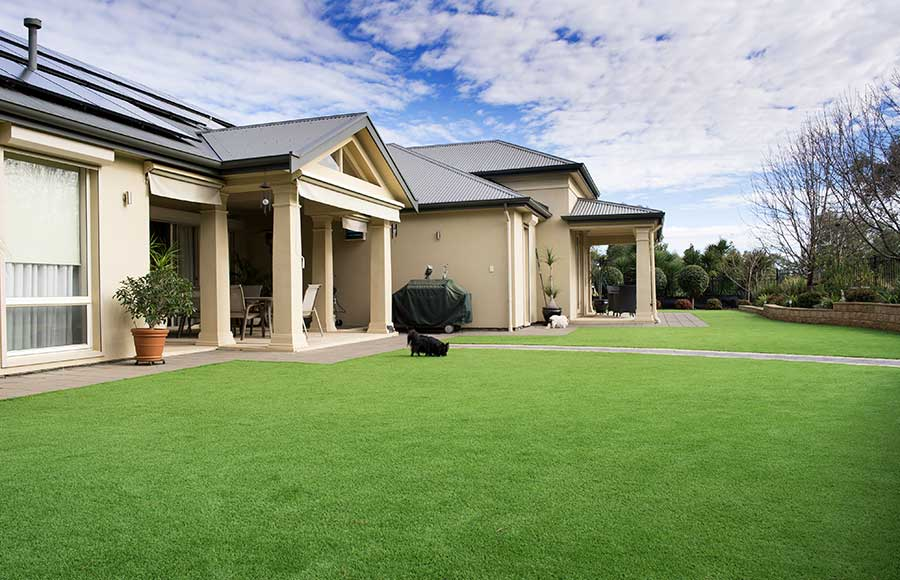 Should I get artificial grass - Artificial grass can withstand Aussie conditions, Australian Outdoor Living.