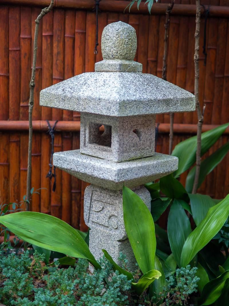 oriental garden statue