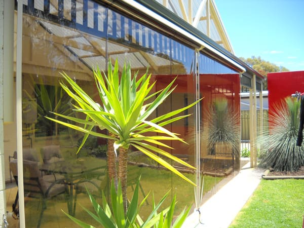 Outdoor blinds are versatile all year round - keep you warm through winter, Australian Outdoor Living.