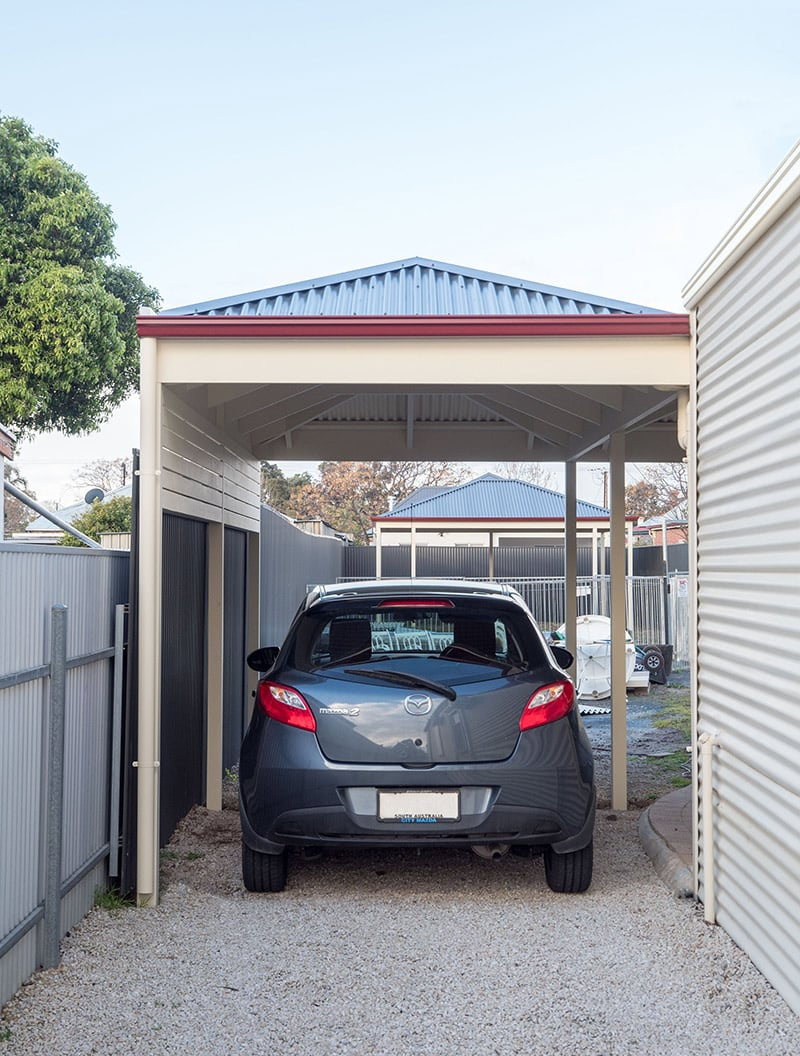 5 Ways to Improve the Selling Price of Your Home with a Carport - Carports guarantee protection for a homebuyer's car, Australian Outdoor Living.
