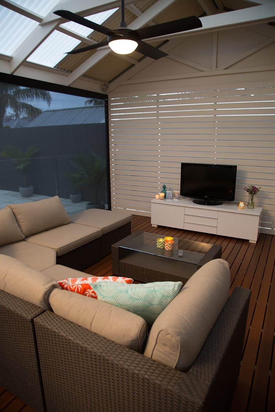 Spice Up Your Verandah Design with these Fresh Ideas - Lounge around on a verandah from Australian Outdoor Living, Australian Outdoor Living.