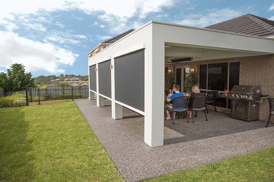 Why We Love Automatic Blinds - Ease and convenience, Australian Outdoor Living.
