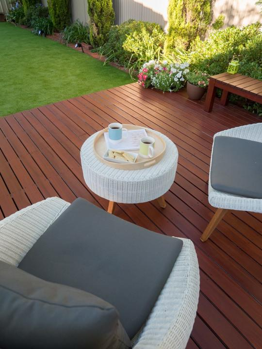 How do I clean my timber deck - Australian Outdoor Living
