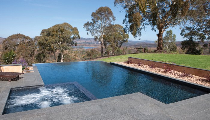 Swimming Pool Solutions For A Sloped Backyard Australian