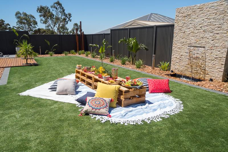 Installing artificial lawn in your backyard is a great way to get rid of pests.
