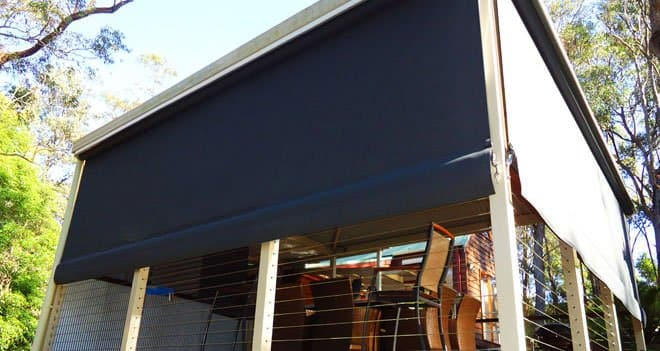 Outdoor Blinds Designs for Your Backyard - Opaque Outdoor blinds are perfect for turning your outdoor area into an indoor area, Australian Outdoor Living.