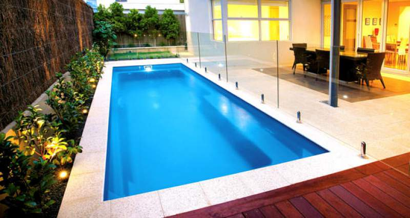 Fibreglass Swimming Pool