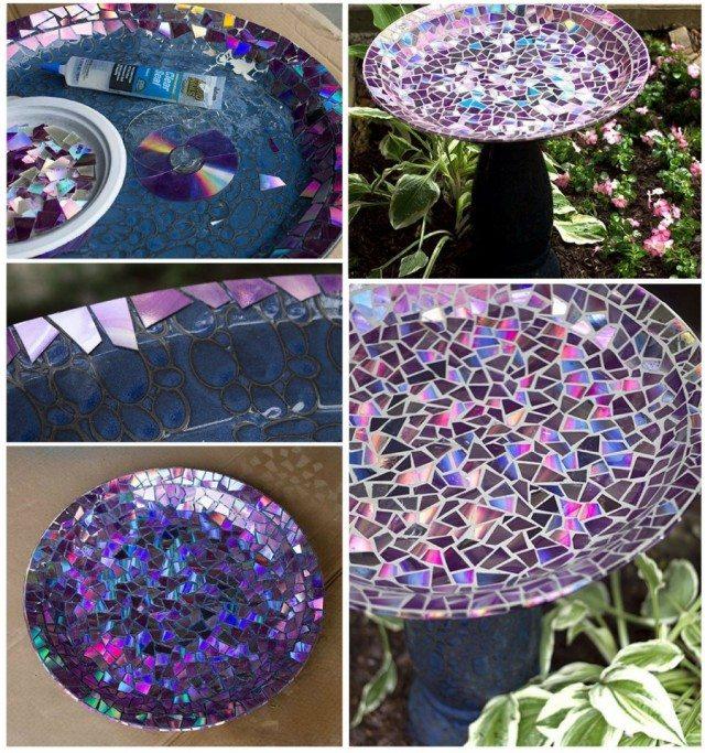 30 Backyard DIY Project Ideas - Bird Bath, Australian Outdoor Living.