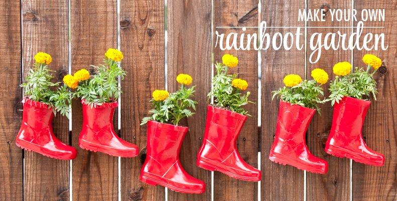 30 Backyard DIY Project Ideas - Rainboot Garden, Australian Outdoor Living.