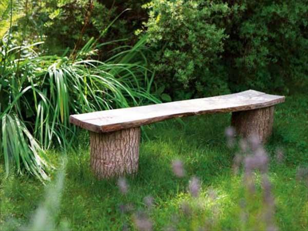 Wooden Garden Bench - 30 Backyard DIY Projects Ideas, Australian Outdoor Living.