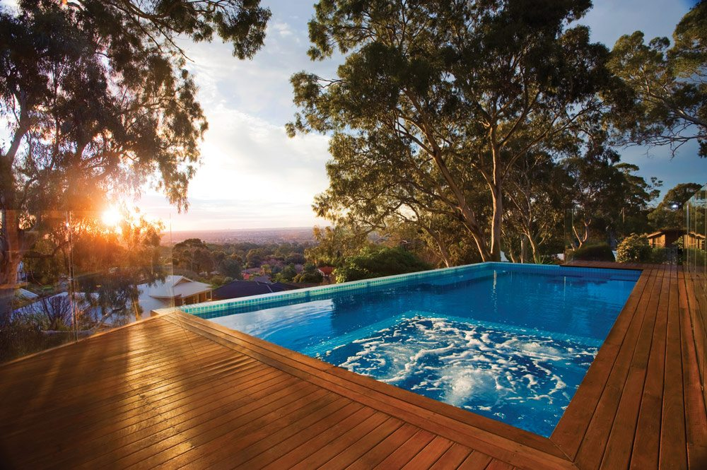 Getting Over the Winter Funk: Preparing Your Pool for Summer - Woodforde swimming pool, Australian Outdoor Living.