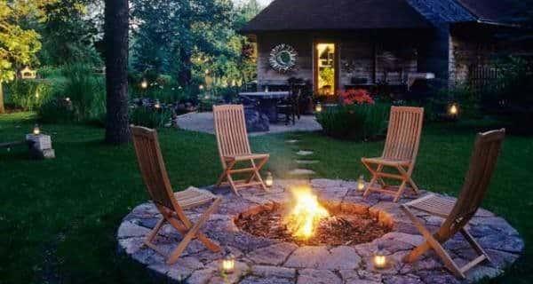 Backyard Fire Pit - 30 Backyard DIY Projects Ideas, Australian Outdoor Living.