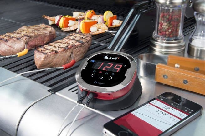 Bluetooth Thermometer for BBQ outdoors