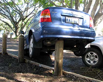Blasé about the weather? This is what happens when you don't protect your car - Protect your car from wild winds, Australian Outdoor Living.