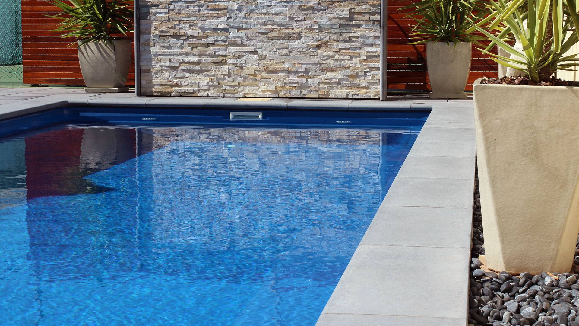 Fibreglass Pool - Home Swimming Pools For Summer