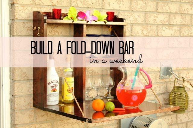 30 Backyard DIY Projects Ideas - Backyard Bar, Australian Outdoor Living.