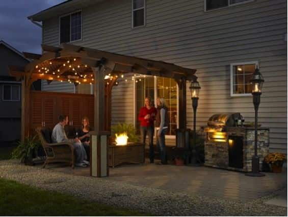 Extend your home with a outdoor pergola.