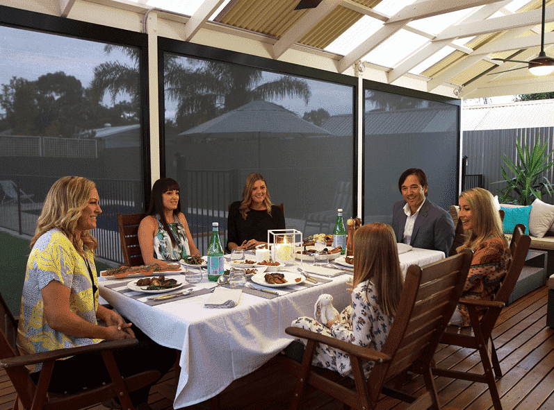 Five reasons you need outdoor blinds - What are Outdoor Blinds, Australian Outdoor Living.