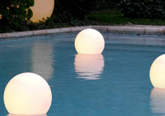 pool float lights