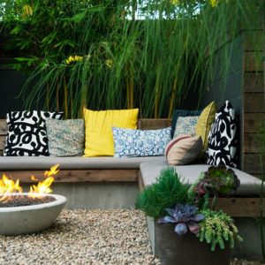 Colourful Outdoor Cushions Sunset