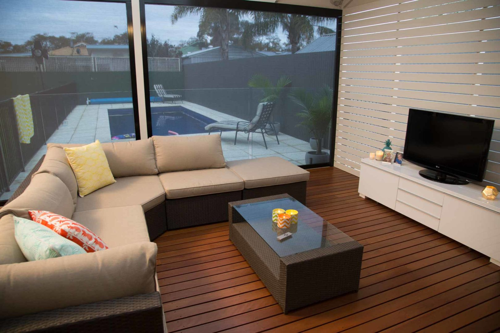 How to oil your timber deck - Oiling an older deck is a similar process as if your deck was new, Australian Outdoor Living.