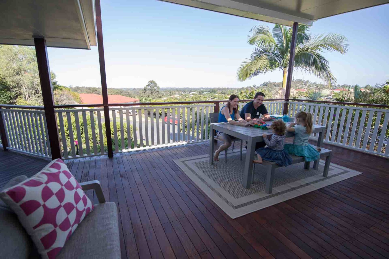 How can I improve my home with timber decking - Timber decking is durable, Australian Outdoor Living.