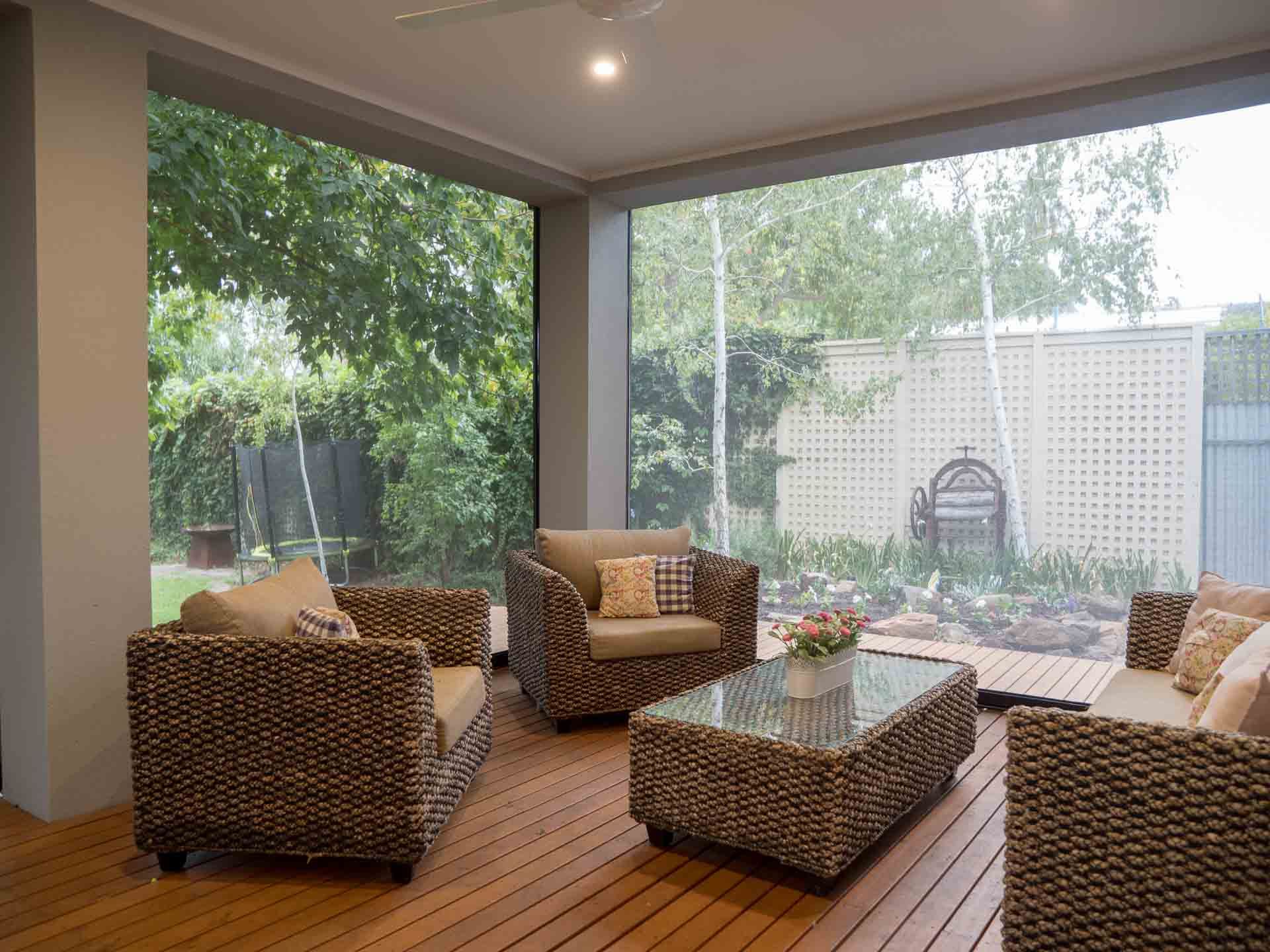 Protect Your Furniture From Damage with Shade Blinds - Shade blinds can protect upholstery and wood furniture, Australian Outdoor Living.