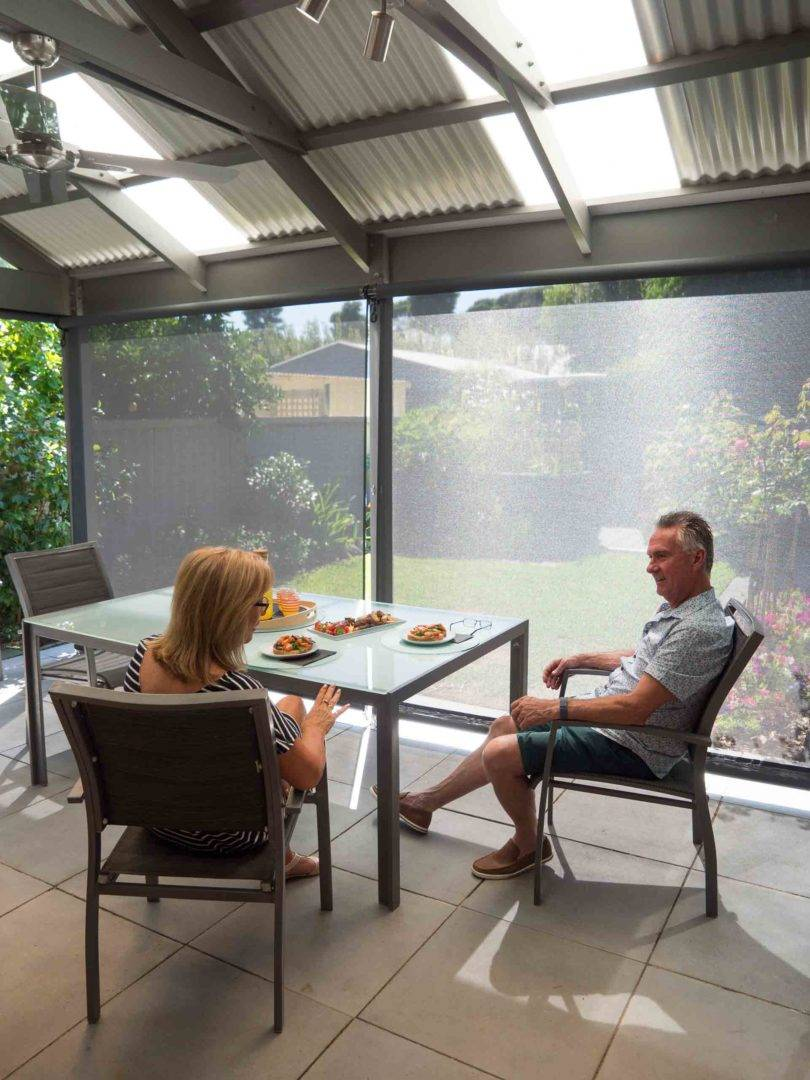 Protect your outdoor furniture with a set of shade blinds - Shade blinds are the perfect way to protect your outdoor area over summer, Australian Outdoor Living.