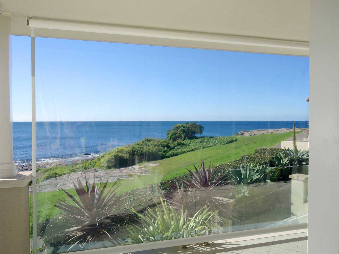 Maintain your view with Café Blinds from Australian Outdoor Living - Cafe blinds protect you against the weather while you get to maintain your view, Australian Outdoor Living.