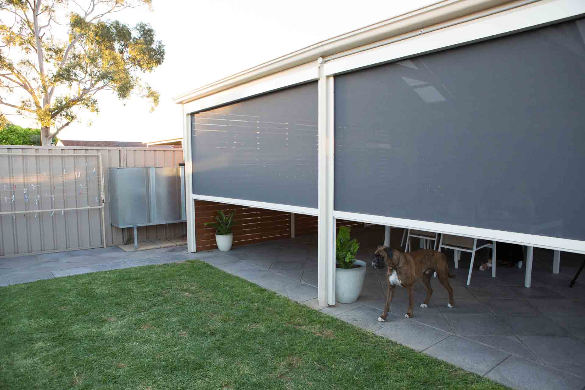 Motorised External Amp Outdoor Blinds Free Measure Amp Quote