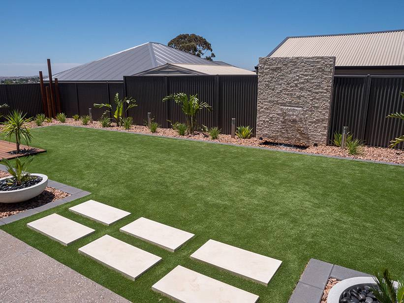 Coldest winter this year - five tips to winter-proof your backyard - An artificial grass lawn will help keep those muddy footprints out of your home, Australian Outdoor Living.