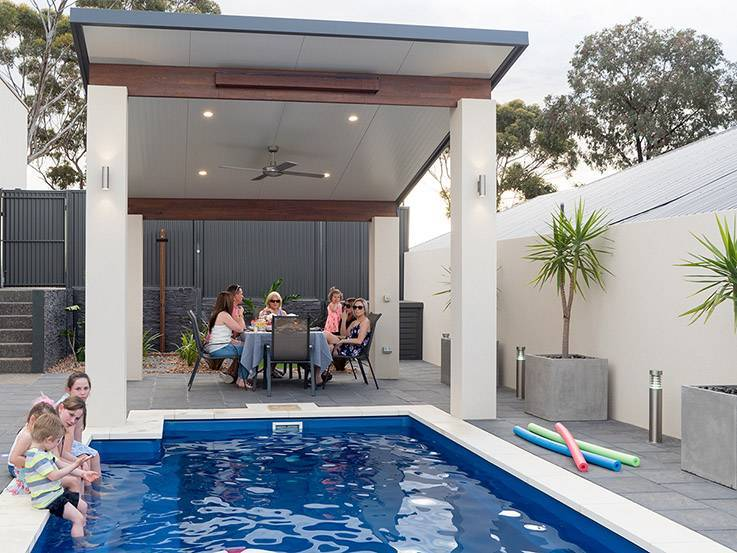 Pergolas, verandahs and patios: which design is right for you - Retreat range, Australian Outdoor Living.