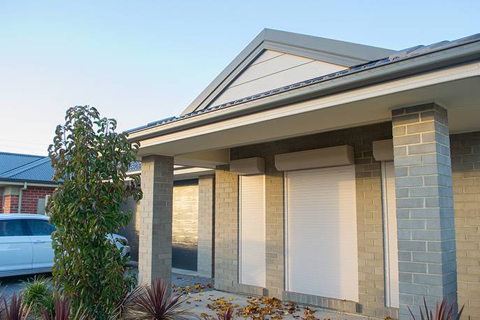 Roller shutters are great for adding a level of security to your home.