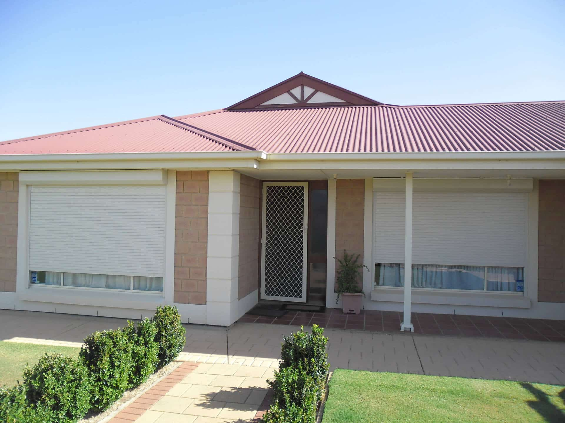 Roller shutters from Australian Outdoor Living.