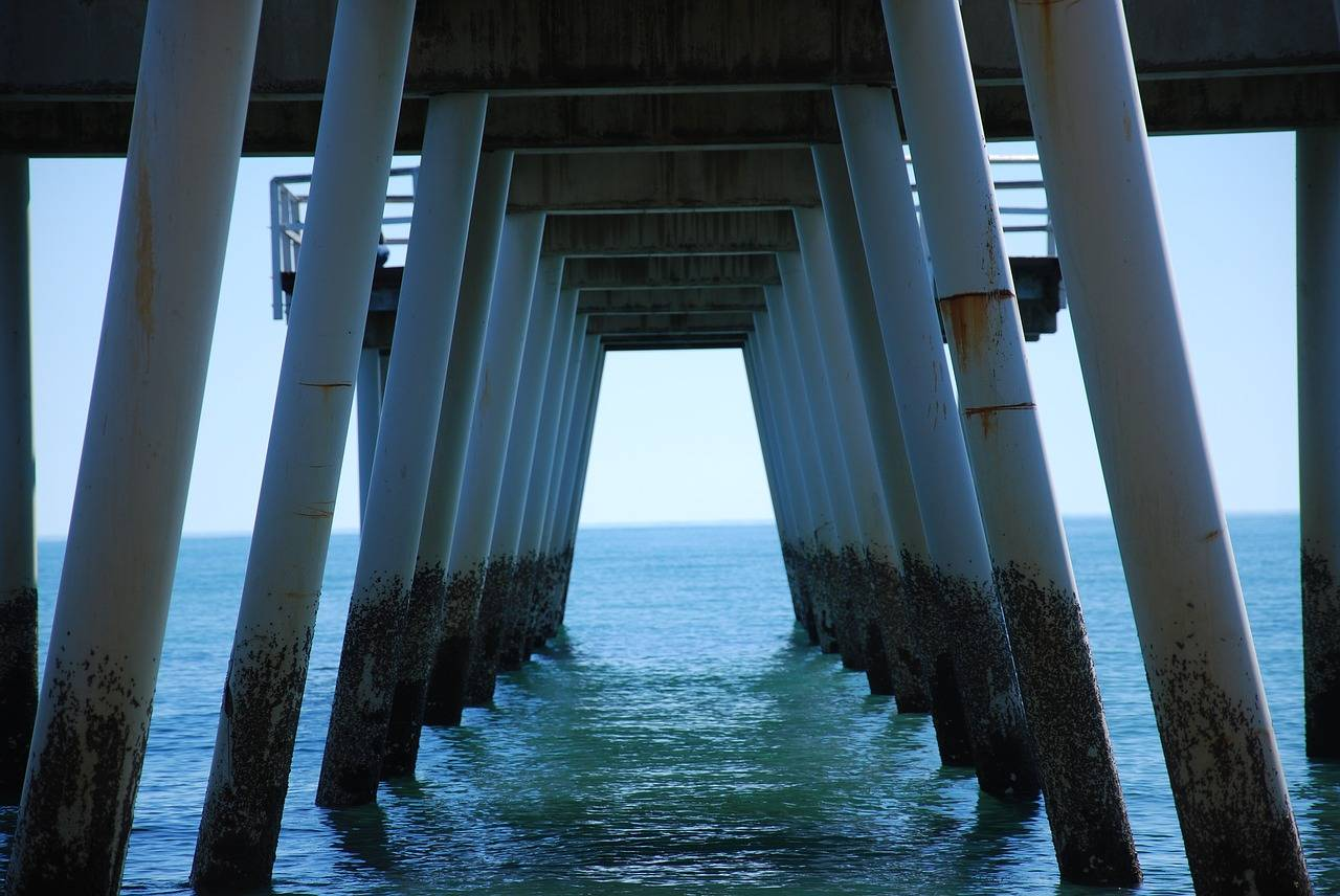 Hervey Bay pier.