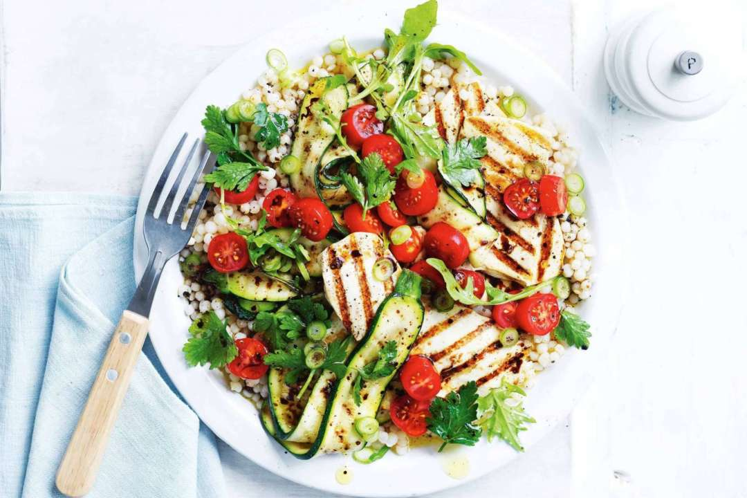 Five Tasty Barbecue Recipes to Enjoy With Your Mates - BBQ tofu and zucchini salad, Australian Outdoor Living.
