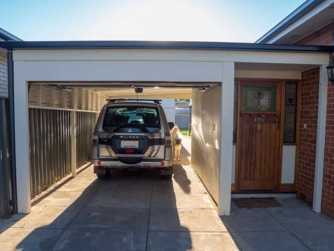 A carport can be a practical and stylish addition to your home - Carports also add value to your home