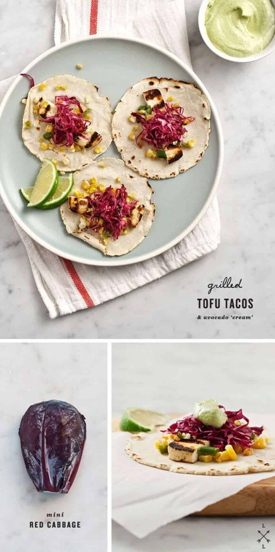 The BBQ is not just for the meat-lovers - Grilled Tofu Tacos, Australian Outdoor Living.
