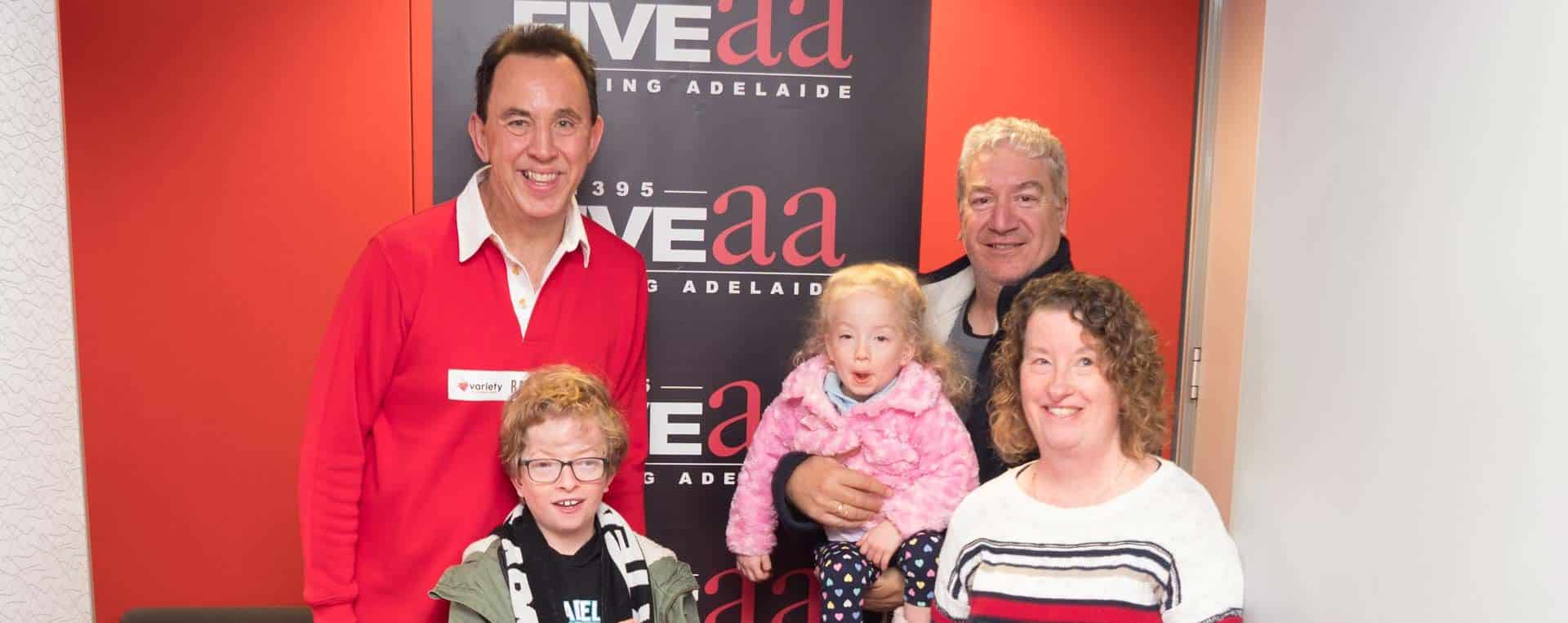 Variety SA The Children's Charity Radiothon - Pool Auction, Australian Outdoor Living.