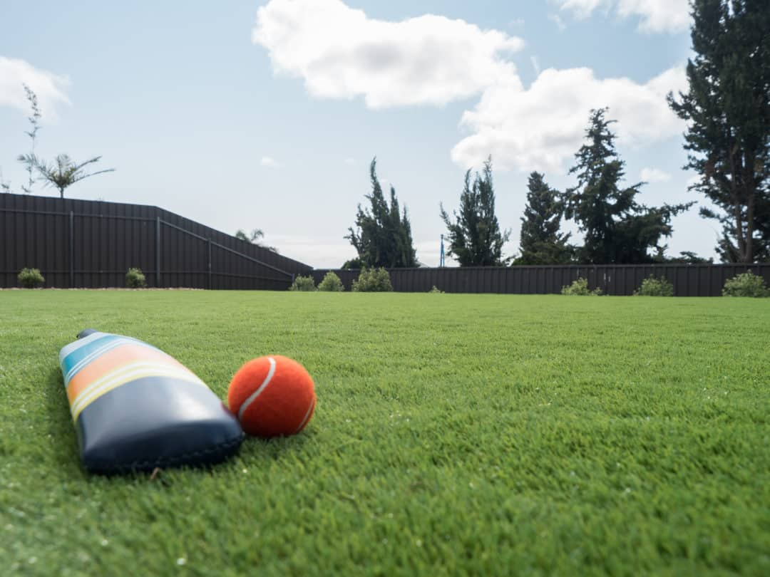 Turn your backyard into the ultimate cricket pitch - Adding a cricket pitch to your backyard will make you the envy of your neighbours, Australian Outdoor Living.