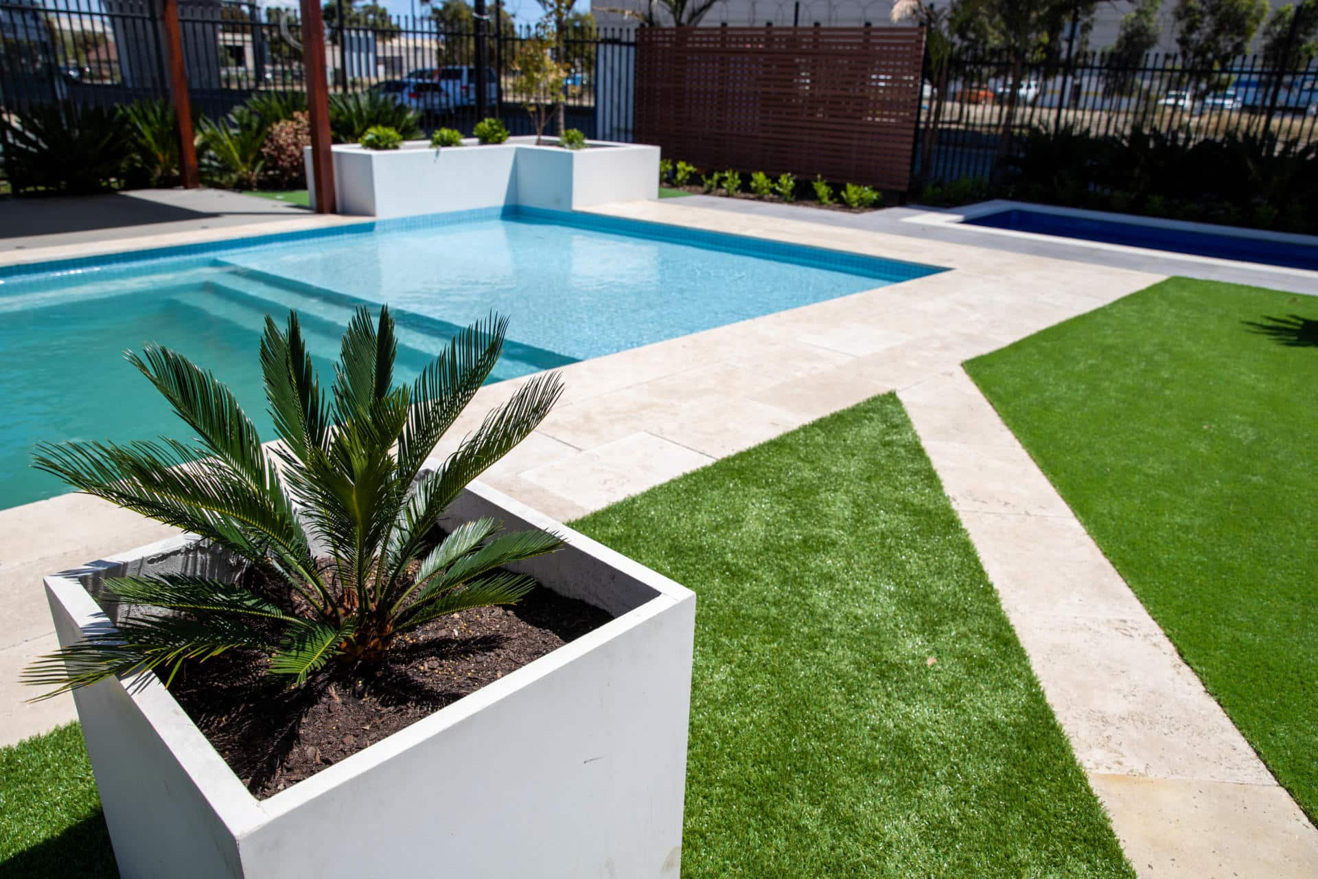 Australian Outdoor Living unveils new outdoor display centre with Super Saturday specials - A bespoke concrete pool would be a stunning addition to your backyard, Australian Outdoor Living.